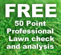free lawn check